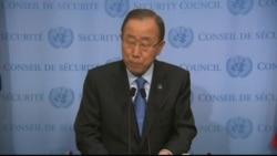 UN Secretary-General Ban Ki Moon on North Korea's Nuclear Test
