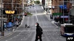 """U Sydneyju je za vikend uveden """"lockdown"""", 26. juni 2021."""