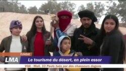Le tourisme du désert, en plein essor