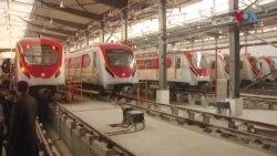 لاہور میں اورنج لائن ٹرین کا آزمائشی آغاز