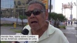 Cumbre de las Américas en Lima Perú