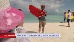 Trung Quốc 'đưa 308 người' ra Hoàng Sa