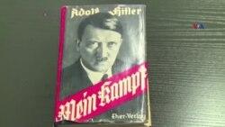 """Adolf Hitlerin """"Main Kampf"""" kitabı yenidən çap edilməyə başlayıb"""