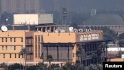 Посольство США в Багдаде (архивное фото)