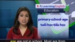 Anh ngữ đặc biệt: Undereducated Children (VOA-Edu Report)