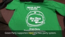Green Party Convenes in Houston