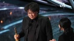 奧斯卡頒獎禮 南韓電影《上流寄生族》成大贏家