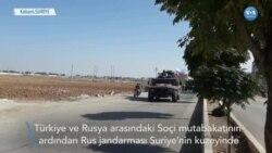 Rus Jandarması Kobani'ye Girdi