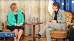 Direktorka Glasa Amerike Amanda Benet u Beogradu