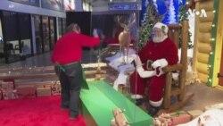 商場避免樂極生悲聖誕老人也須防疫