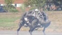 """谷歌收购""""波士顿动力"""" 打造机器人部队"""
