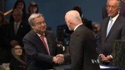 António Guterres Sworn In as New UN Chief