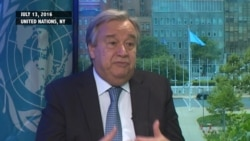 VOA Talks to Antonio Guterres on His Vision for Role of U.N. Secretary-General