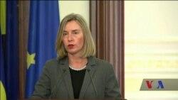 Моґеріні у Києві відзначила, що втоми від України у ЄС немає. Відео