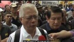 2013-07-24 美國之音視頻新聞: 菲律賓抗議者要求中國撤離爭議島嶼