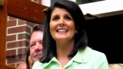 Trump Transition Haley