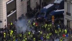 法國爆發大規模抗議