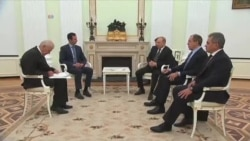 اولین سفر بعد از آغاز بحران سوریه؛ بشار اسد در مسکو با پوتین دیدار کرد