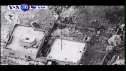 Bộ Quốc phòng Mỹ công bố video không kích IS (VOA60)
