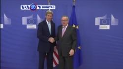 VOA60 DUNIYA: BRUSSELS Sakarataran Harakokin Waje Amurka John Kerry, Ya Gana Da Shugabanin Tarayya Turai, Maris 25, 2016