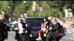 Sophie Cruz, a menina que furou a segurança do Papa