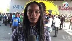 Manifestasyon Opozisyon an nan Pòtoprens Demare nan Kafou Ayewopò