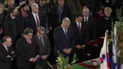 加總理參加魁北克槍擊案遇難者葬禮