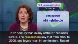 Phát âm chuẩn - Anh ngữ đặc biệt: Sea Levels Rising (VOA)