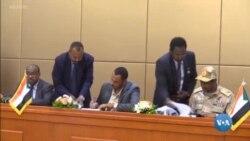O futuro político no Sudão assinado em acordo de partilha de poder