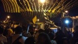 Así celebra Brasil las victorias