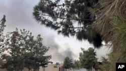 래시카르가의 탈레반 거점에 공습이 단행됐다.