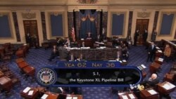 US Senate Approves Keystone Pipeline Project