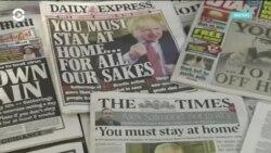 Коронавирус подтолкнул британское правительство ввести жесткие ограничения