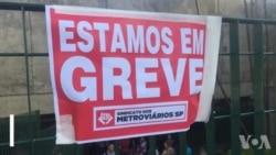 Protestos no Brasil contra reforma de Temer paralisam transportes públicos