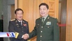 Tư lệnh hải quân VN gặp Bộ trưởng Quốc phòng TQ