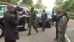 Uhuru visits injured soldiers