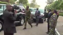 Uhuru visits injured soldiers