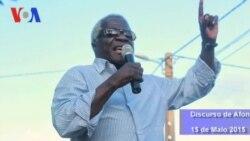 Discurso Afonso Dhlakama em Nampula, 15 Maio 2015