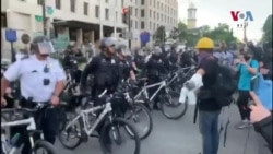 واشنگٹن ڈی سی میں پرتشدد احتجاج، جلاؤ گھیراؤ