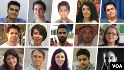 تصاویری از زندانیان سیاسی، اعدامشدگان و جانباختگان اعتراضات سال ۹۸