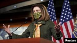 资料照:美国国会众议院议长南希·佩洛西