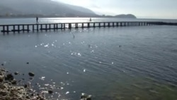 Нивото на Охридското езеро подолг временски период, алармантно