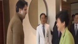 朴槿惠到醫院探望駐韓大使李柏特