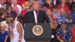 川普在亞利桑那舉行競選式集會