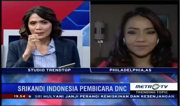 Laporan Langsung VOA untuk Metro TV: Hari Ketiga Konvensi Nasional Partai Demokrat