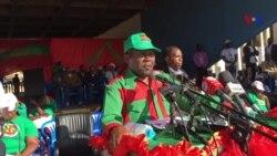 Isaías Samakuva em campanha eleitoral relembra ao povo promessas das eleições anteriores