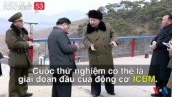 Bắc Triều Tiên thử động cơ phi đạn (VOA60 châu Á)