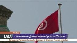 Un nouveau gouvernement pour la Tunisie