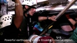 Ecuador Earthquake Kills at Least 77; Toll Expected to Rise