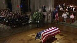 Warga Texas dan Seluruh AS Melepas George HW Bush